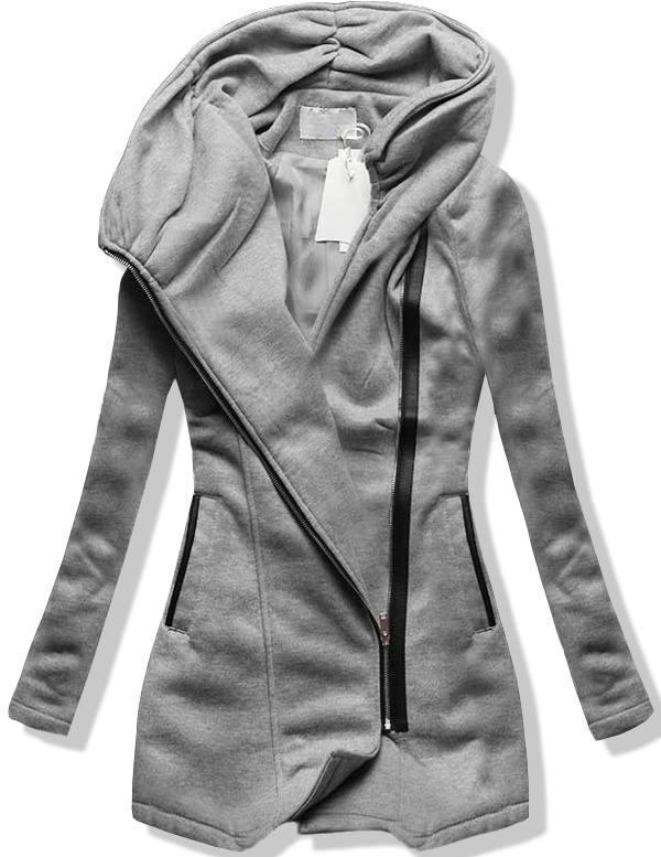 Šedý kabát M-1605