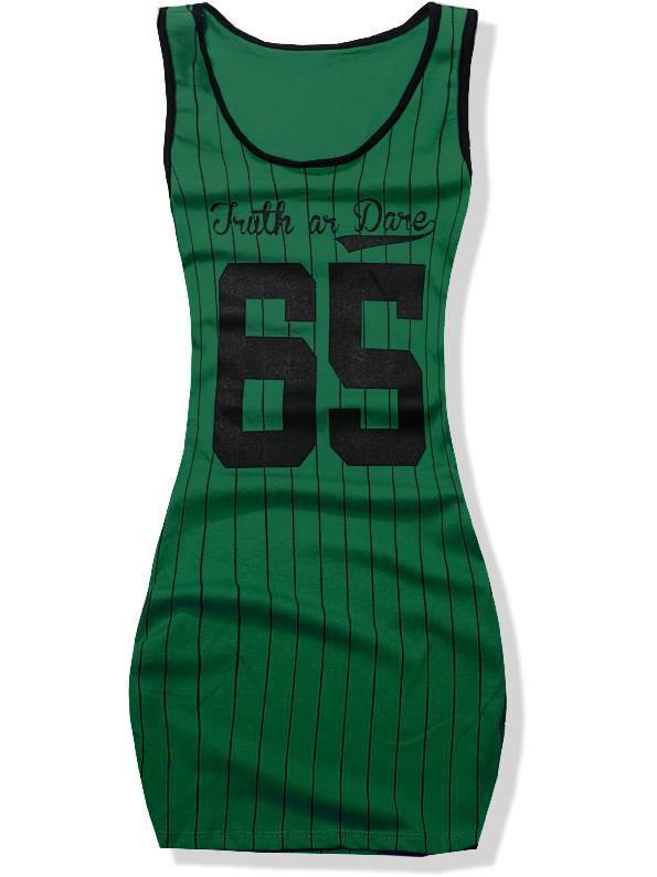 Zelené šaty 3647