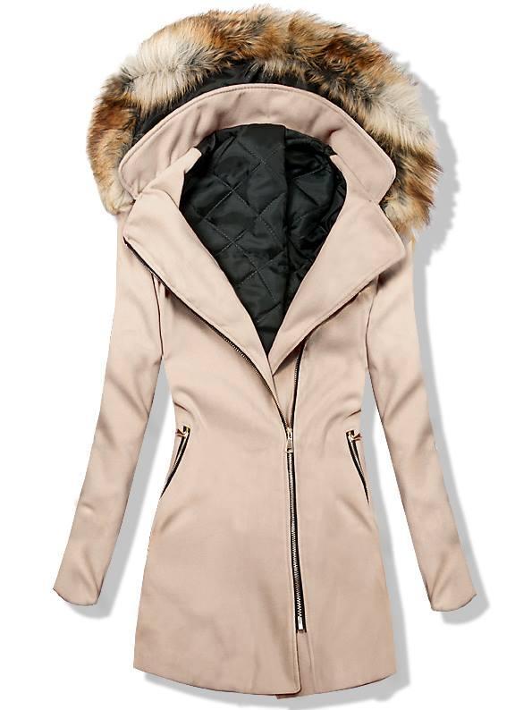 Béžový kabát