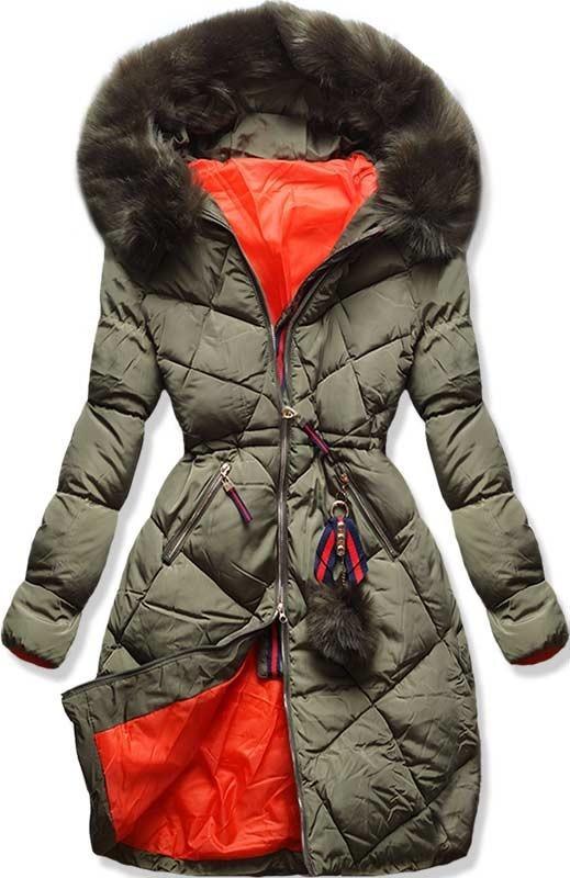 Khaki zimní bunda L928