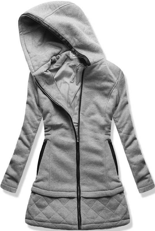 Šedý kabát M-1601